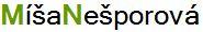 Míša Nešporová Logo